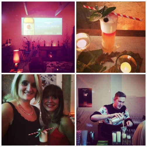 Rekorderlig Cider press event; shaken not stirred!